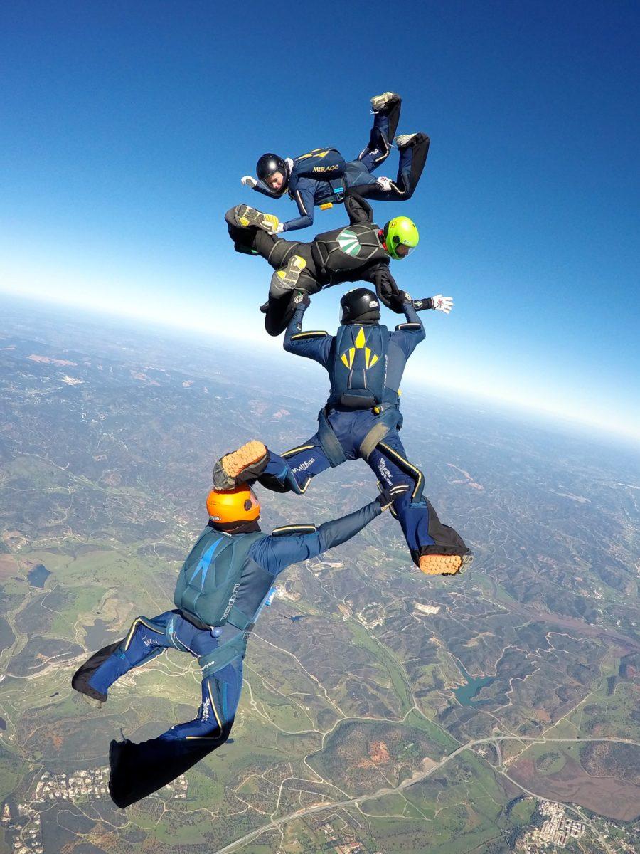 Courses - AFF Courses - Skydive Algarve
