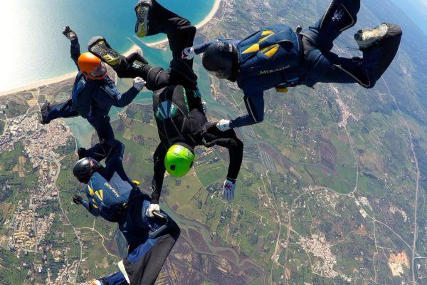 skydiving dating app